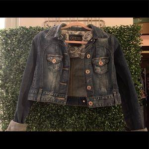 Guess denim (Jean) jacket - stretch material